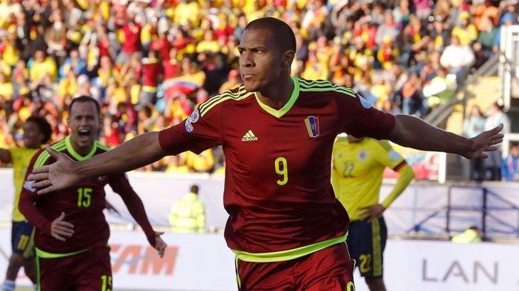 Рондон стал лучшим бомбардиром в истории сборной Венесуэлы