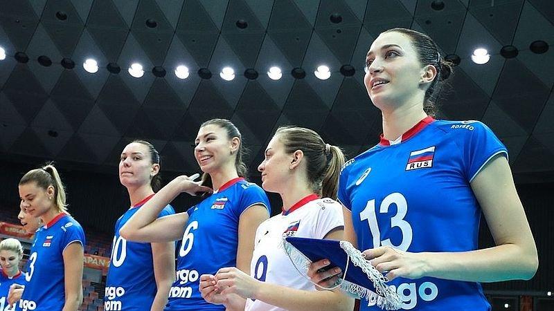 Российские волейболистки в четвертый раз подряд выиграли золотые медали