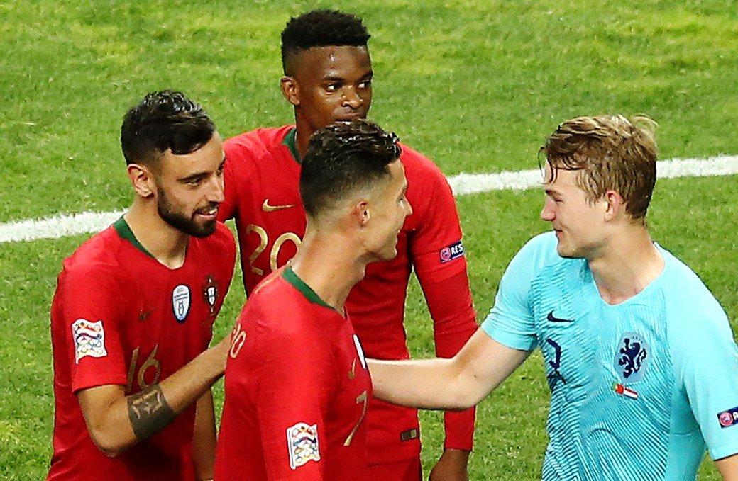 """Роналду позвал де Лигта в """"Ювентус"""" сразу после финала Лиги наций"""