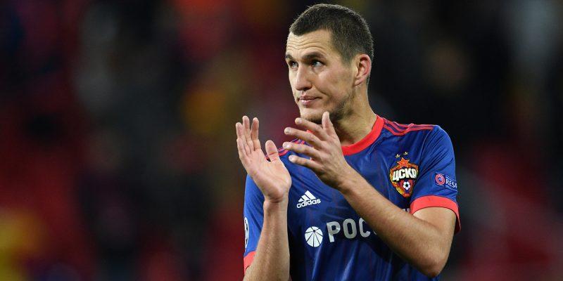 Защитник ЦСКА Васин травмировался в матче с «Локомотивом»