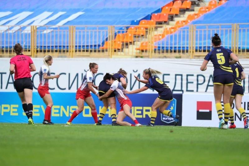 Женская сборная России разгромно победила шведок