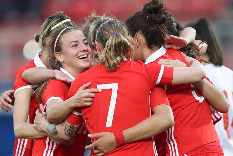 Женская сборная России футбол