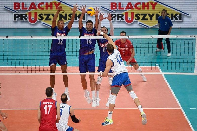 Сербия - Франция Волейбол