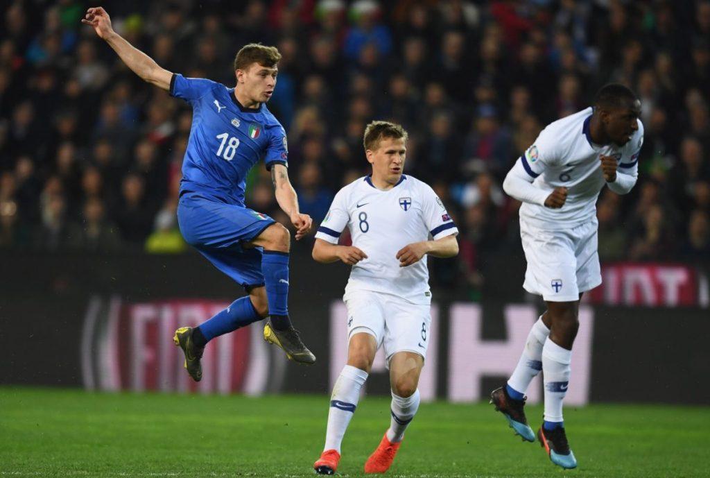 Свое единственное поражение в текущем отборе финны потерпели в Италии