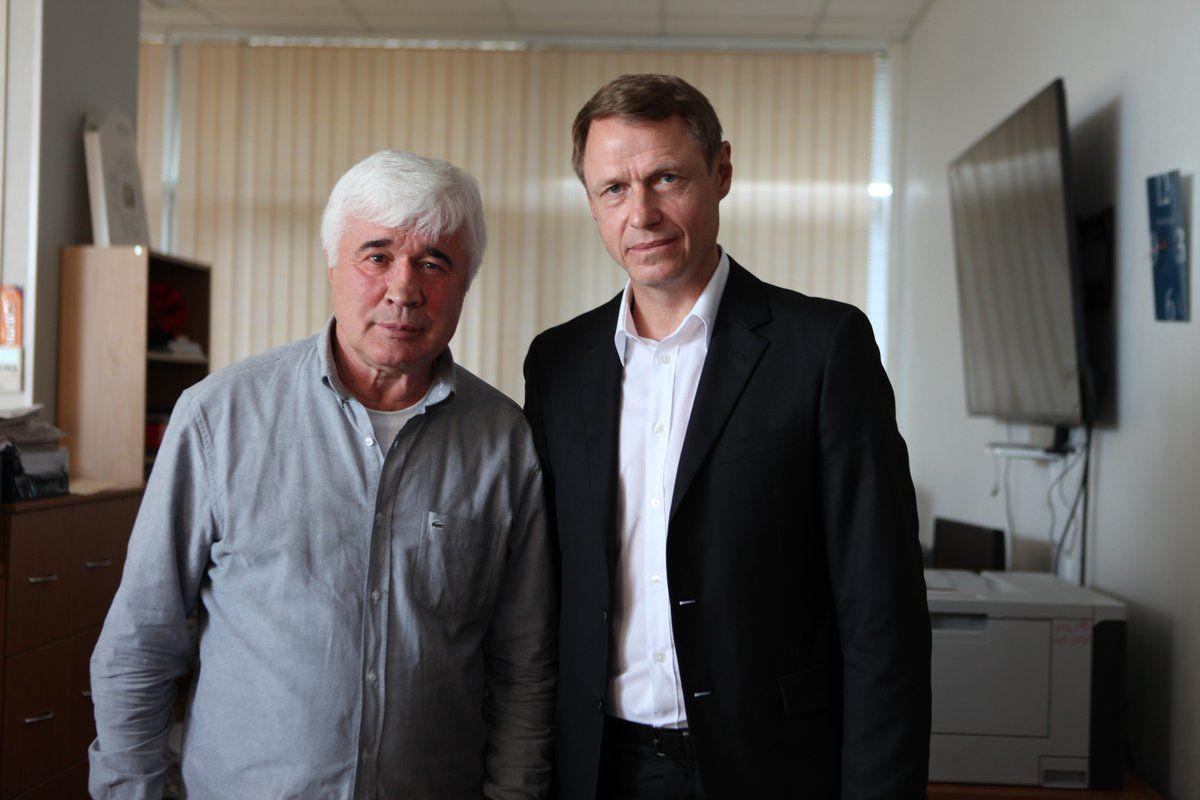 Евгений Ловчев и Олег Кононов