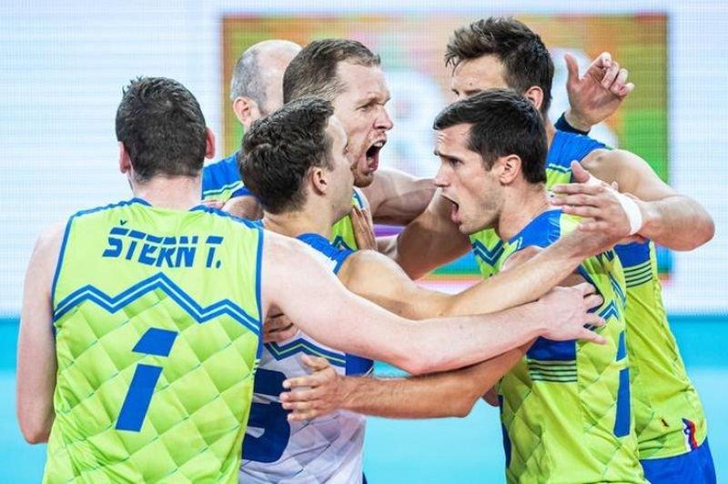 Мужская сборная Словении по волейболу