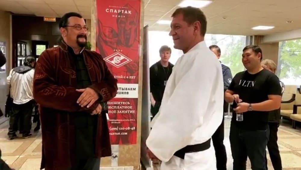 Сигал и Емельяненко