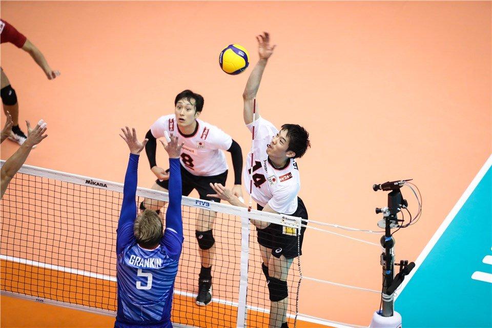 Россия проиграла Японии