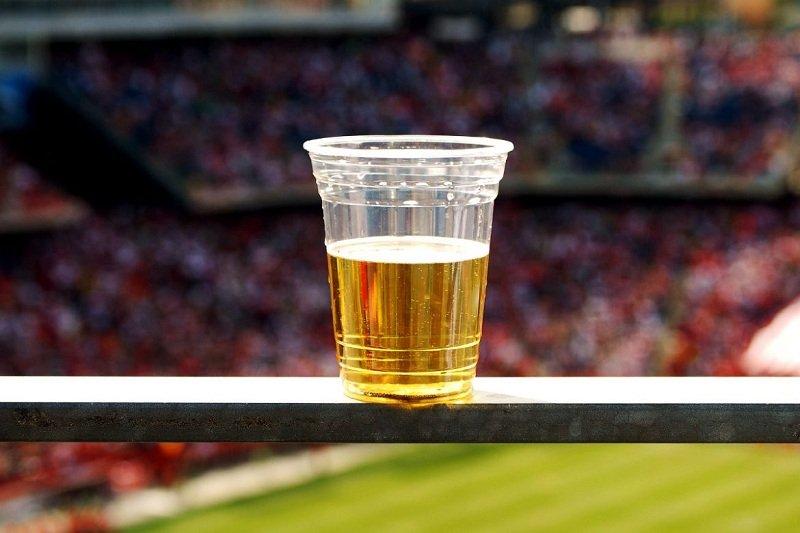Пиво на стадионе