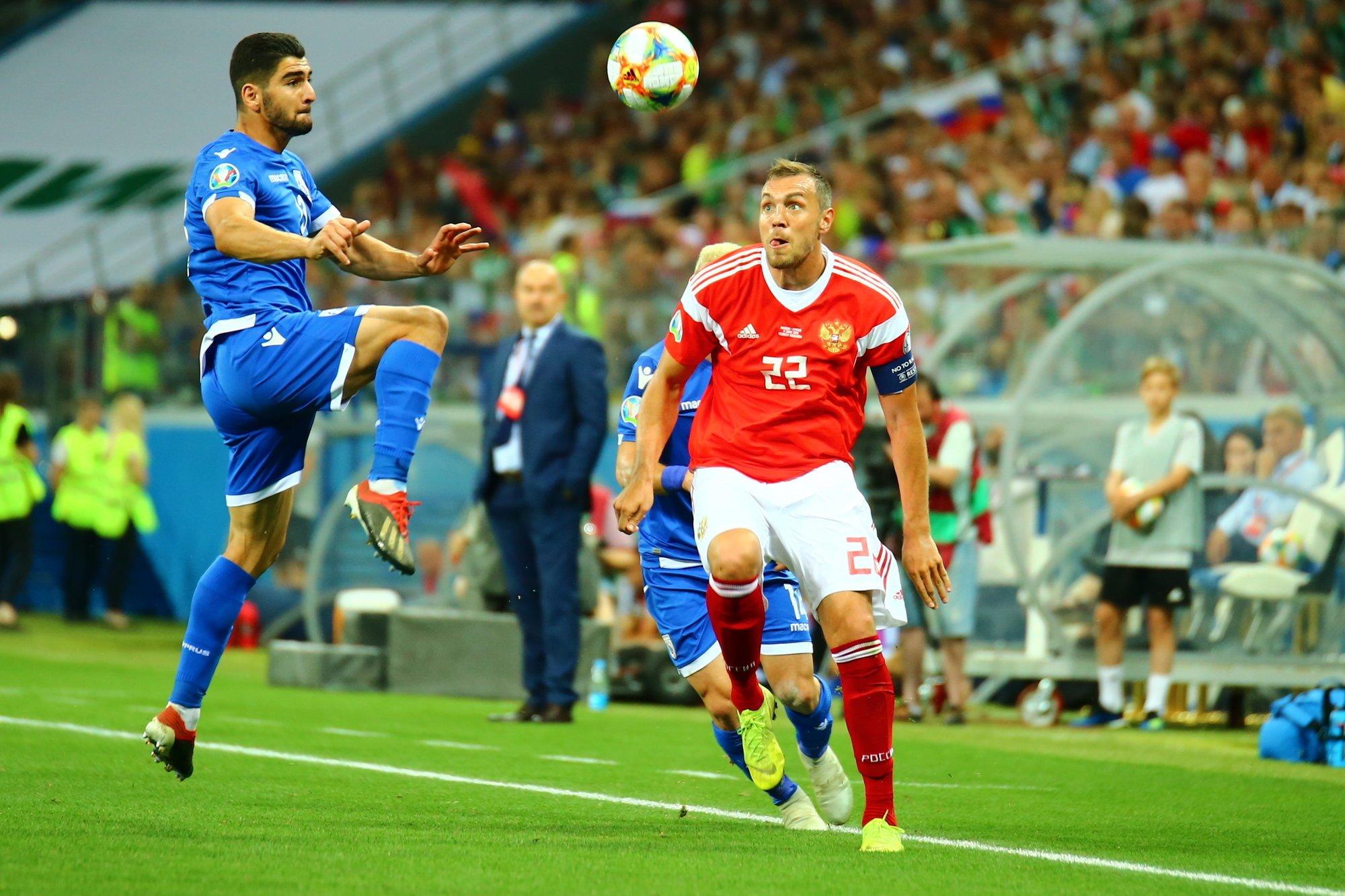 Кипр — Россия: ставки, прогнозы и коэффициенты букмекеров на матч 13 октября 2019 года