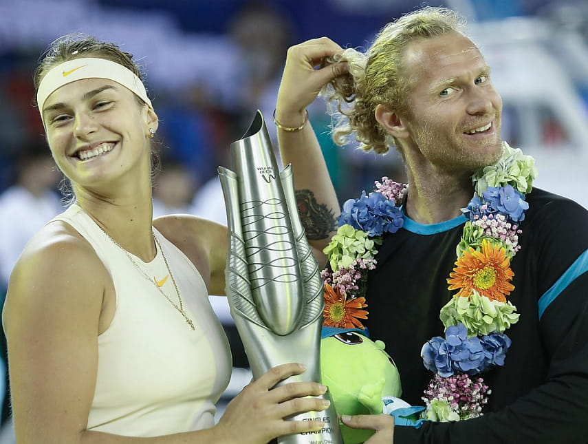 Арина Соболенко и Дмитрий Турсунов