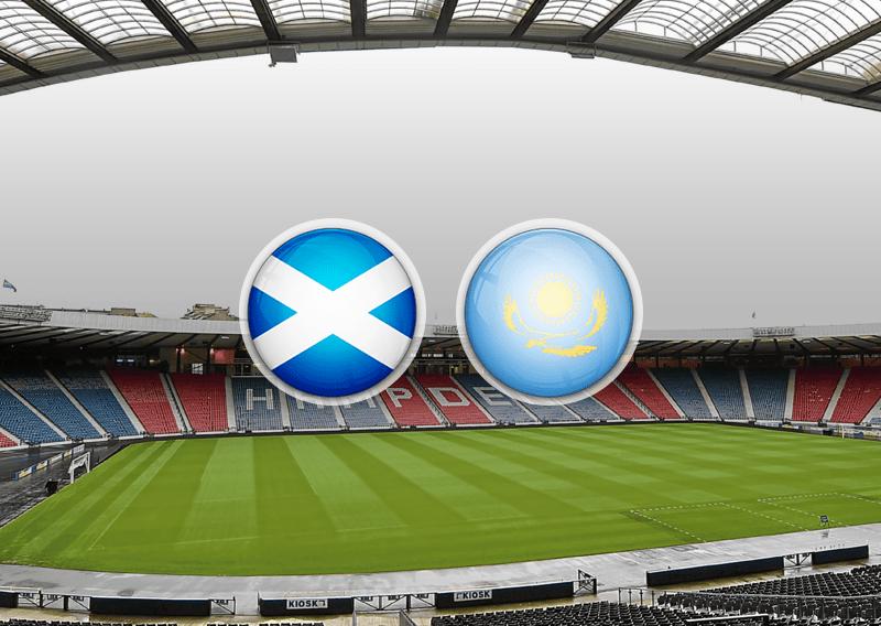 Букмекеры считают Шотландию фаворитом в матче с Казахстаном