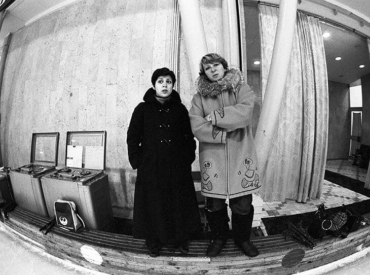 Ирина Роднина и Татьяна Тарасова успешно работали вместе