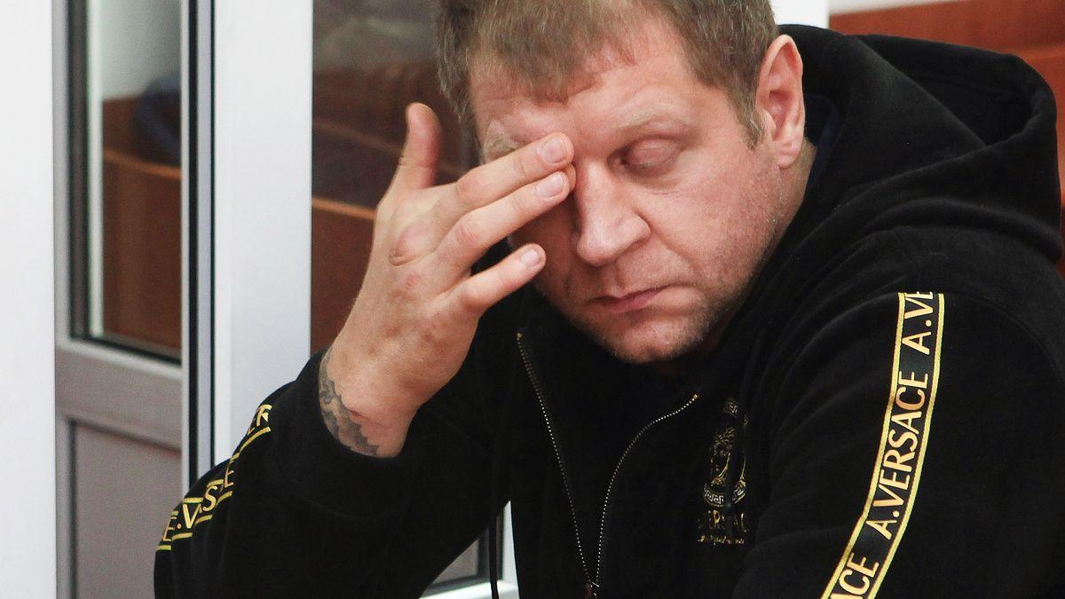 Российский боец смешанных единоборств Александр Емельяненко