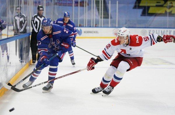 СКА вновь обыграл «Локомотив» в матче предсезонного турнира Parimatch Sochi Hockey Open 2020
