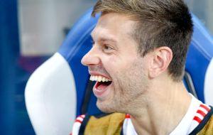 Смолов выложил фото с певцом Дорном и использовал эмодзи с сердечком и флагом Украины