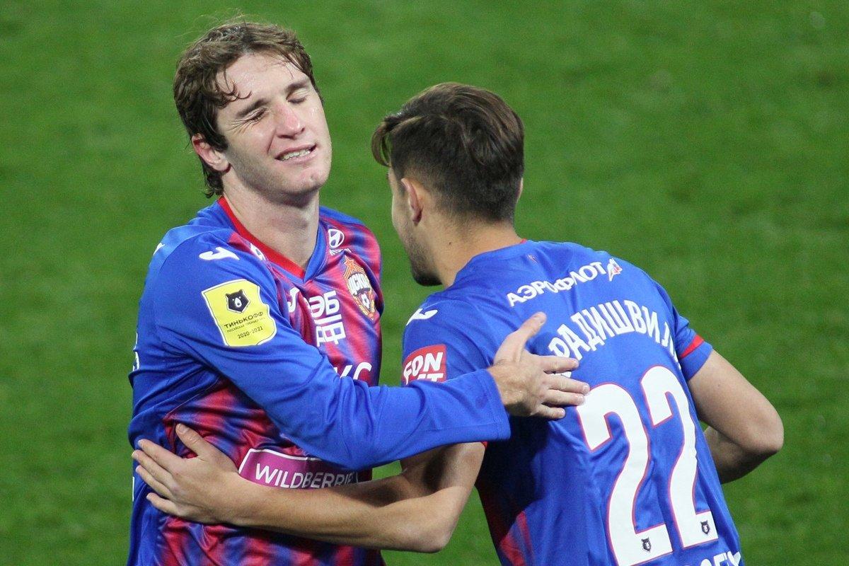 Клиент «Фонбет» поставил ₽653 тыс. на победу ЦСКА в матче с «Динамо» Загреб