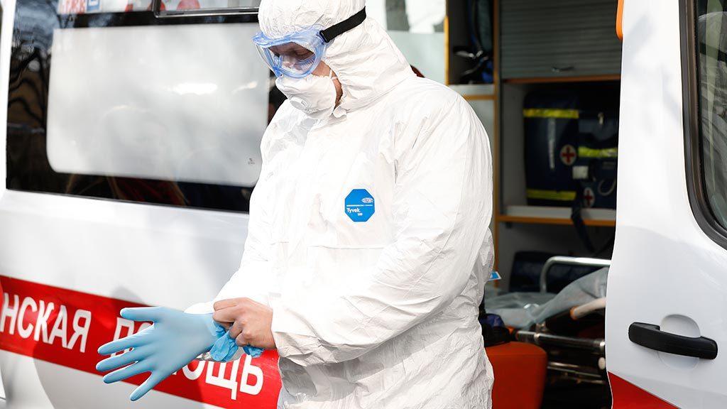В России зафиксировано рекордное количество заражений коронавирусом за сутки
