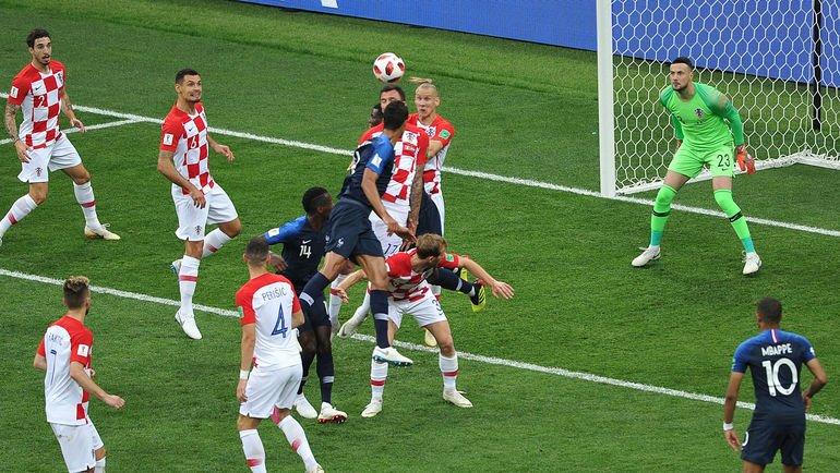 Хорватия - Франция