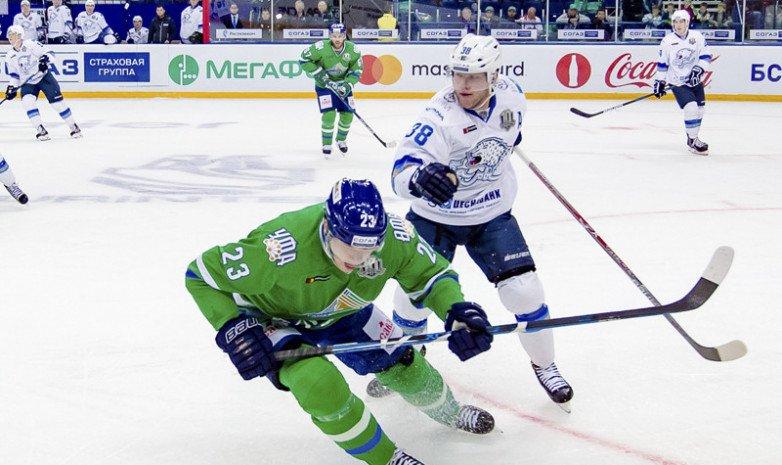 «Салават Юлаев» одержал третью победу подряд, обыграв на выезде «Барыс»
