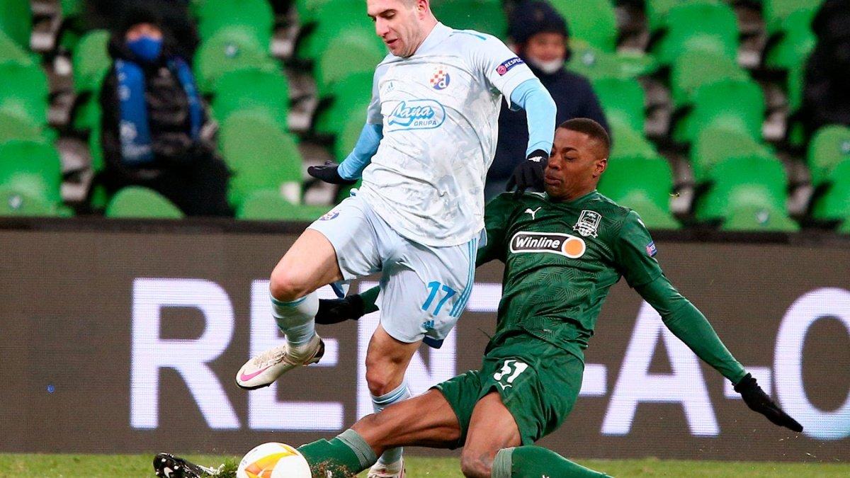 Букмекеры: 86% игроков ставят на «Динамо» Загреб в матче с «Краснодаром»