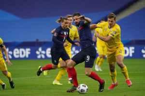 Франция и Украина сыграли вничью в отборе на ЧМ-2022