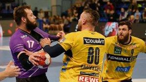 «Чеховские медведи» переиграли «Рейн-Некар» в первом матче 1/4 финала Лиги Европы