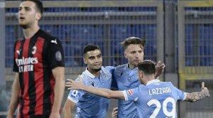 «Милан» потерпел второе поражение подряд, крупно уступив «Лацио»