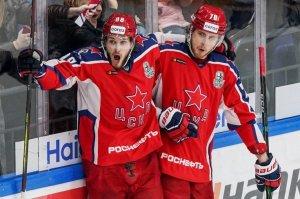 ЦСКА снова победил СКА в финале Западной конференции КХЛ и повел в серии со счетом 2-0