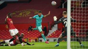 «Ливерпуль» обыграл в гостях «Манчестер Юнайтед» и сохранил шансы на финиш в топ-4 АПЛ