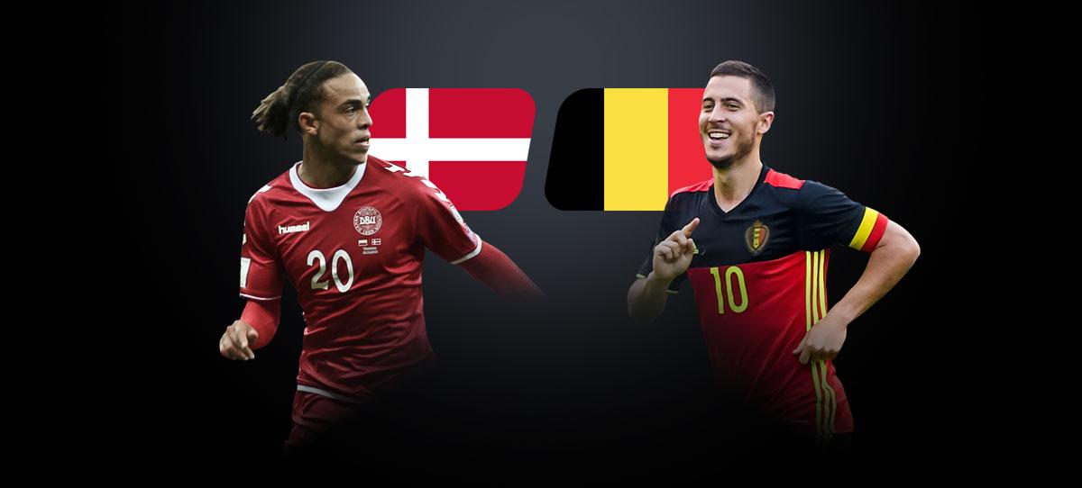 Дания – Бельгия: прогнозы, ставки и коэффициенты букмекеров на матч чемпионата Европы 17 июня 2021 года