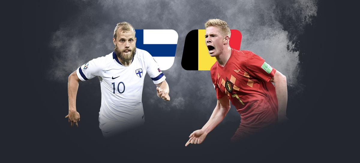 Финляндия – Бельгия: прогнозы, ставки и коэффициенты букмекеров на матч чемпионата Европы 21 июня 2021 года