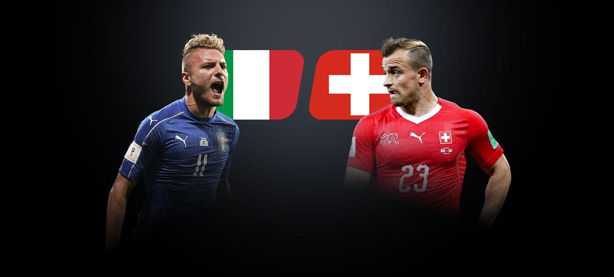 Италия – Швейцария: прогнозы, ставки и коэффициенты букмекеров на матч 2-го тура группового этапа Евро-2020 16 июня 2021 года