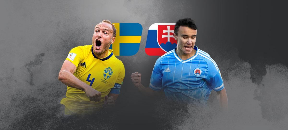 Швеция – Словакия: прогнозы, ставки и коэффициенты букмекеров на матч 2-го тура группового этапа Евро-2020 18 июня 2021 года