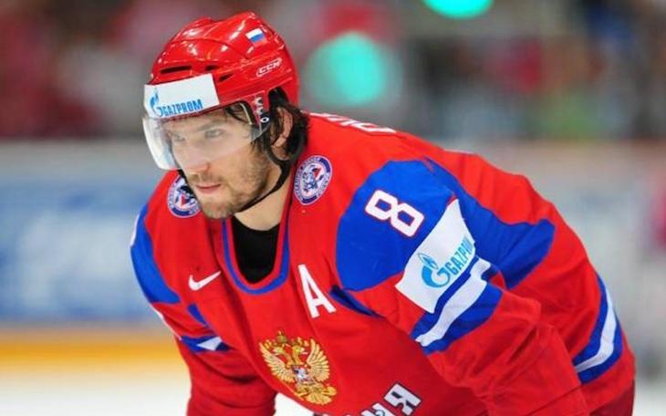 Александр Овечкин уже успел потренироваться с командой
