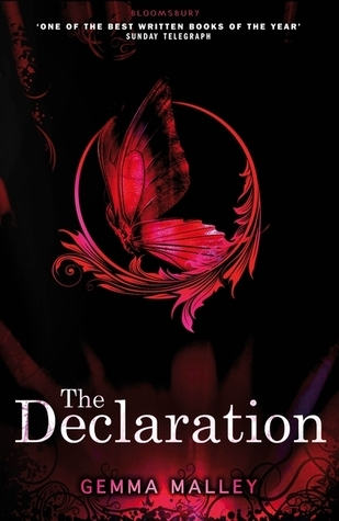 The Declaration by Gemma Malley (The Declaration #1) - Paperback, 295 pages - Published November 8th 2012 by Bloomsbury