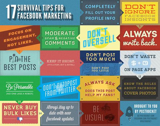 17 Facebook Marketing Tips