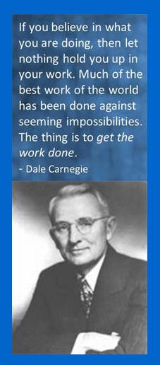 Dale Carnegie on Work