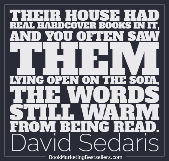 David Sedaris on books