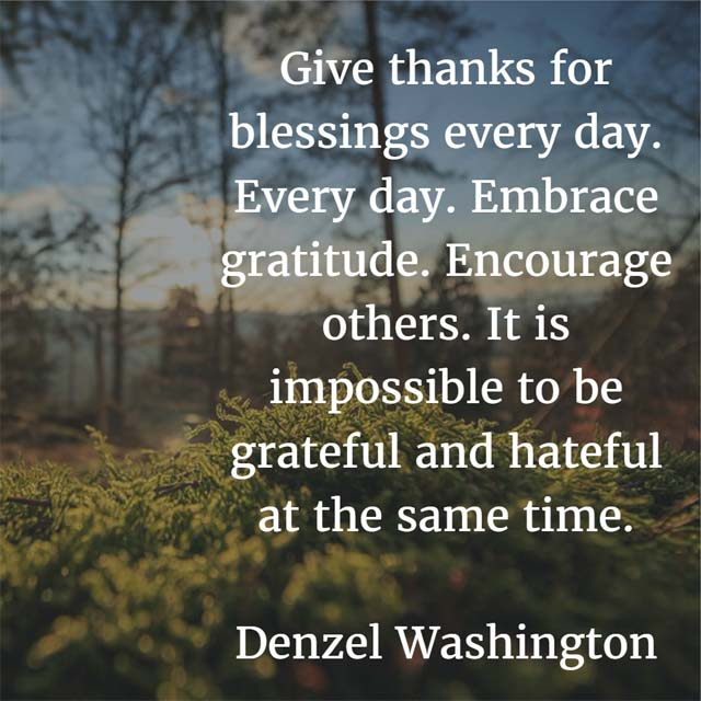 Love Quote Mobile Wallpaper The Month Of Thanksgiving Denzel Washington On Giving