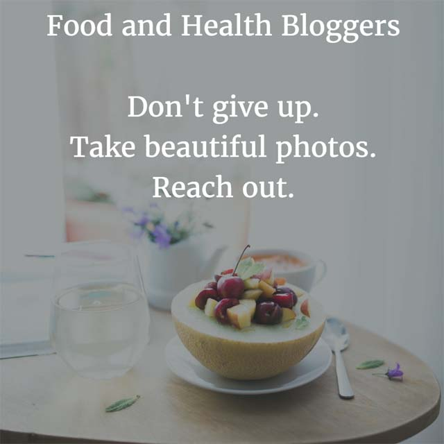 Food and Health Blogs