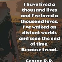 George R.R. Martin: On Reading