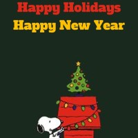 Happy Holidays from John Kremer and Snoopy