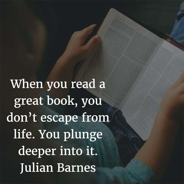 Julian Barnes on Reading a Great Book