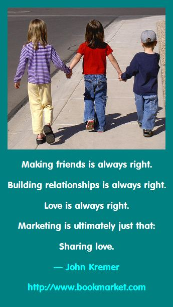 Marketing is Making Friends