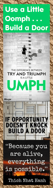 Marketing Bookmark - Use a Little Oomph