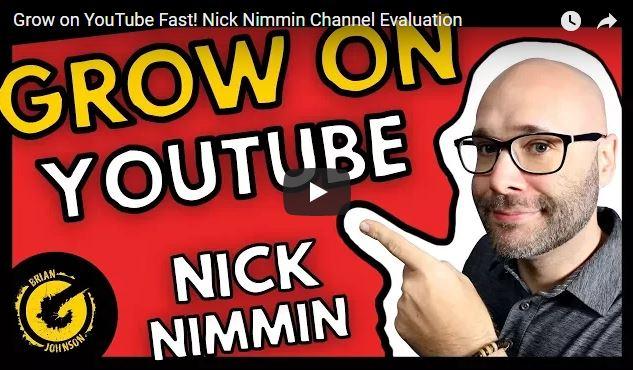 Nick Nimmin on YouTube Marketing