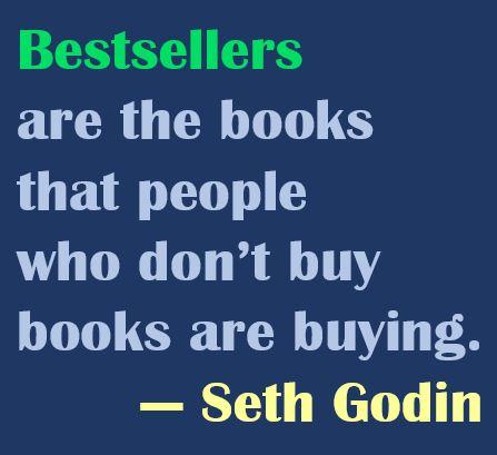 Seth Godin on Bestsellers