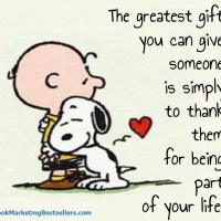 Snoopy: The Greatest Gift You Can Give