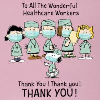 The Peanuts Gang Thanks All the Healthcare Workers!